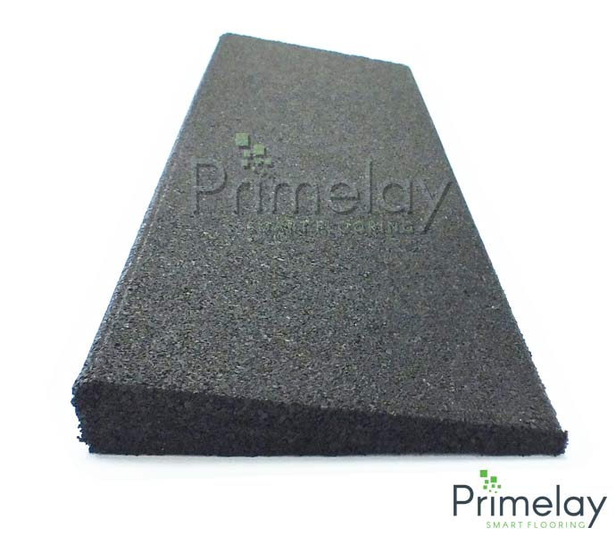 25mm Rubber Edging Tile Prime Play Brand Rubber Tiles