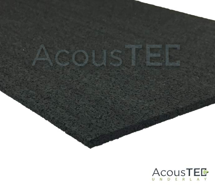 Mm Soundproof Underlay AcousTEC Rubber Underlay - Ceramic tile soundproof underlayment