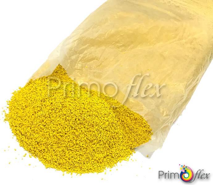 Bright Yellow EPDM Granules Playground Flooring - Primoflex EPDM