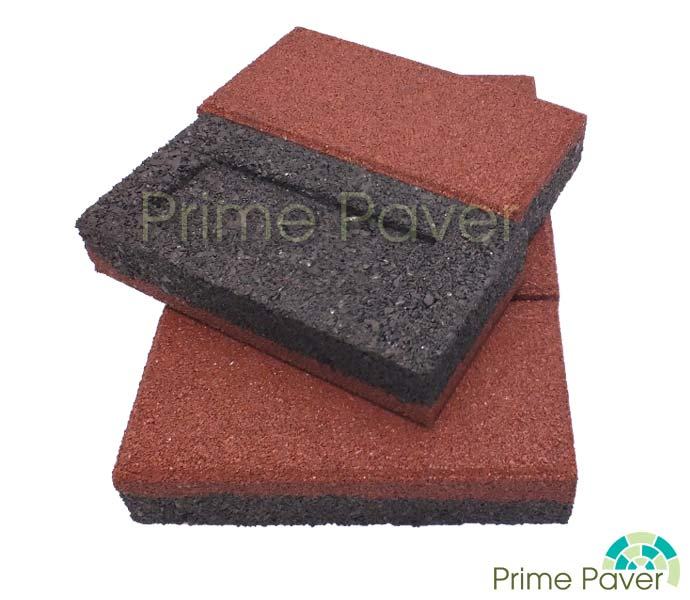 Prime Paver 40mm Rubber Brick Pavers Primelay Products
