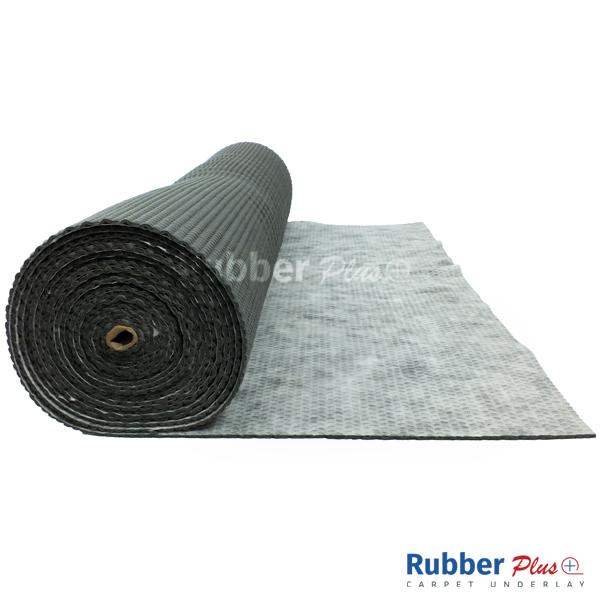 6mm Rubber Waffle Carpet Underlay   Carpet Plus 600